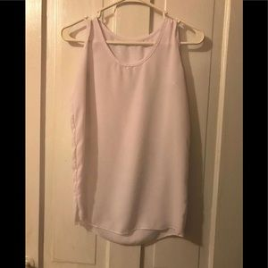 Tops - ✨ 5 for $10 ✨ Sheer white tank top!